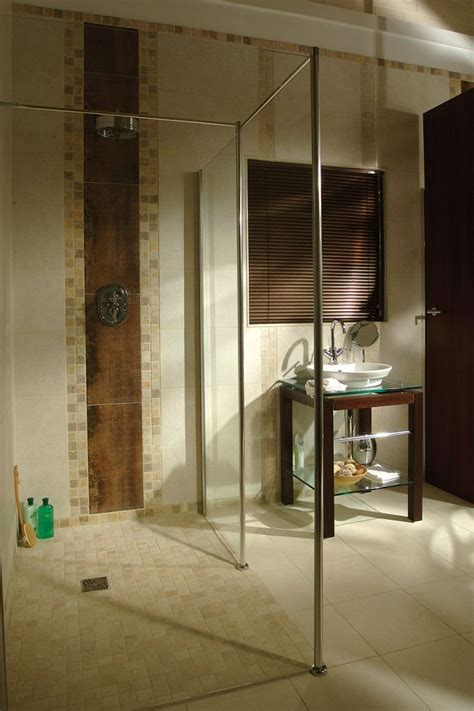 accessible shower wet room roll  shower cleveland