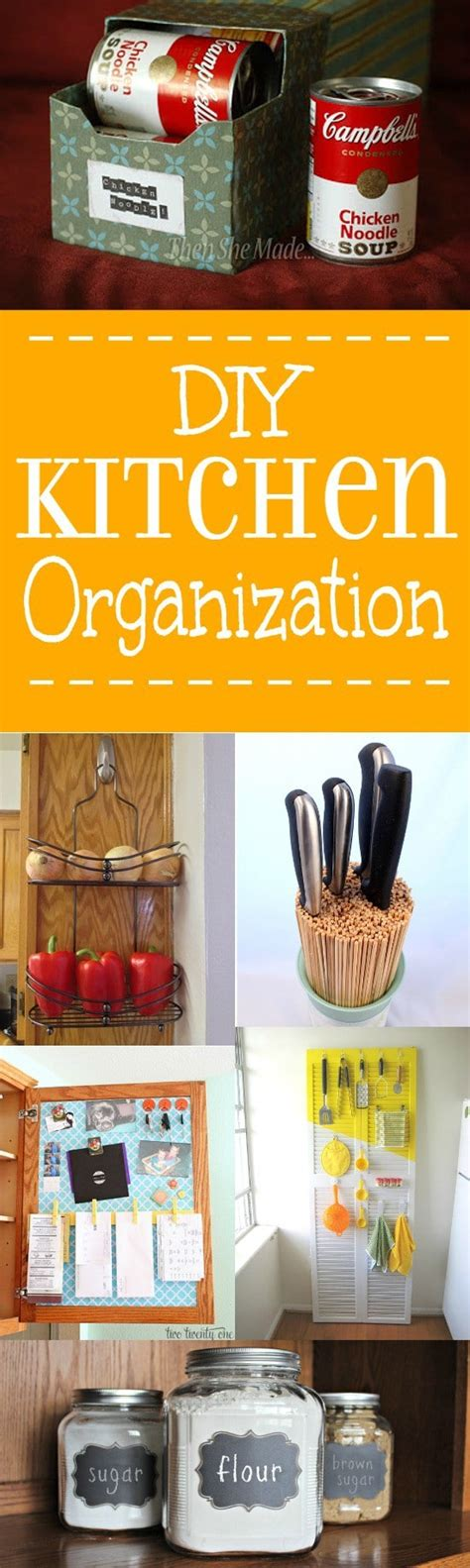 kitchen organization ideas diy 24 diy kitchen organization ideas the gracious 5437