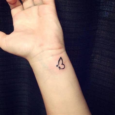 Permalink to Semicolon Tattoo Significado