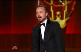 aaron paul wins emmy 2010 aaron paul kisses giancarlo esposito on the lips after