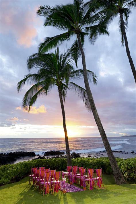 sheraton kauai resort weddings  prices  wedding