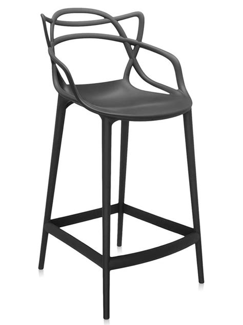 siege starck masters stool tabouret kartell design en polypropylène