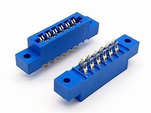 3 96mm Pcb Solder Typecard Edge Slot Connector  R3230