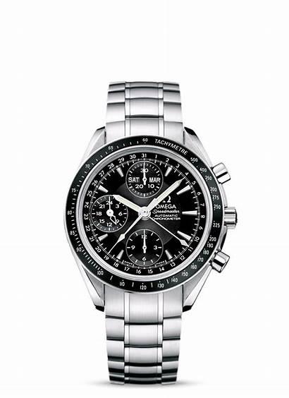 Omega Date Speedmaster 3220 Chronograph Steel Bracelet