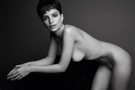 Emily Ratajkowski Fully Nude For Love Magazine July Summer Celebsflash