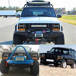 7x6 5x7 55w H4 Led Headlights Drl 1pcs For Jeep  Cherokee Xj  Wrangler Yj  Toyota Pickup Sale