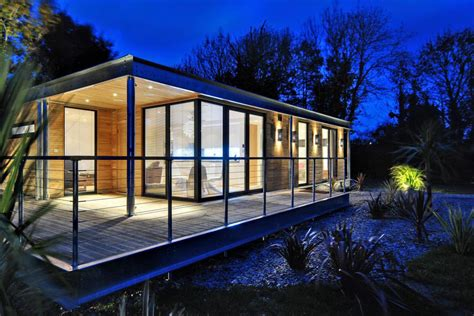 Prefabricated panelized home packages, as landmark supplies, provide the best efficiencies in building for cost and quality control which help you design and build your new home. Small Contemporary Modular Homes Small Inexpensive Modular Homes, modern small home - Treesranch.com