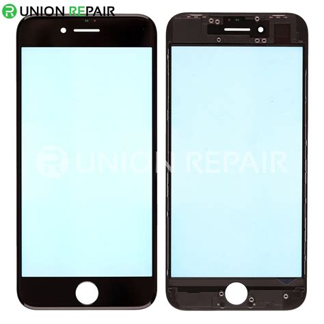 iphone 4 front replacement for iphone 8 front glass lens with supporting