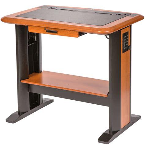desktop standing desk standing computer desk caretta workspace