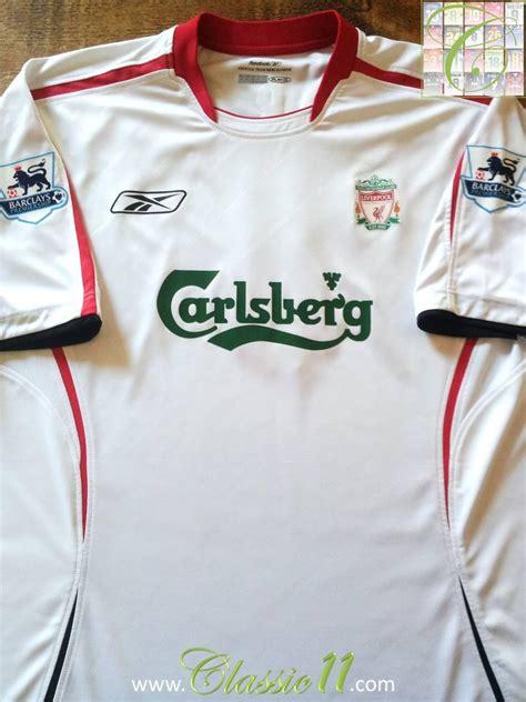 Liverpool Выездная футболка 2005 - 2006. Sponsored by ...