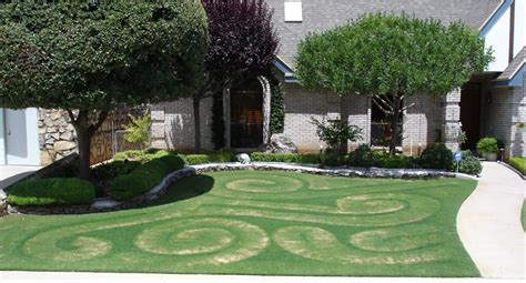 front yard design the yard art project yard maze and swirl design el paso texas