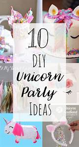 10 DIY Unicorn Party Ideas — Doodle and Stitch
