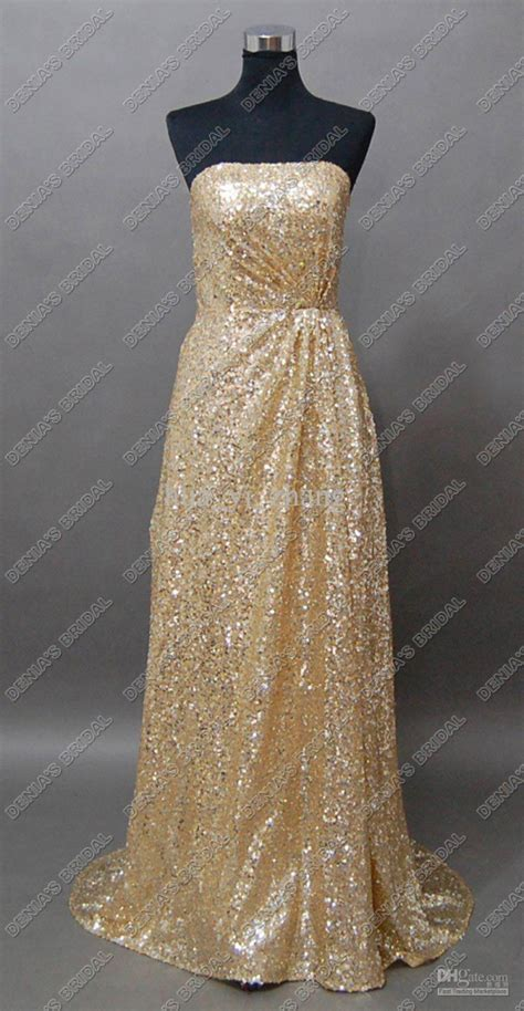 size gold sequin dress  bb fashion