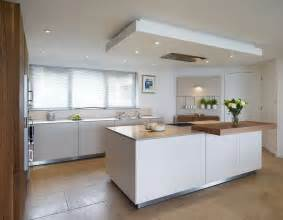 The Drop Ceiling Creates A Flush Fit Extractor Above The