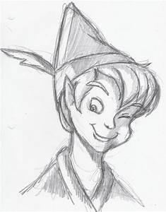 #peterpan I love this type of drawing :) | Drawing ideas ...