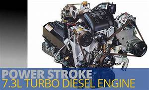 The 7 3l Power Stroke Diesel Engine Is A Four