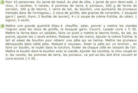recette pot au feu breton recette pot au feu breton facile et rapide
