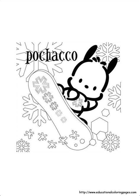 pochacco coloring pages educational fun kids coloring pages  preschool skills worksheets