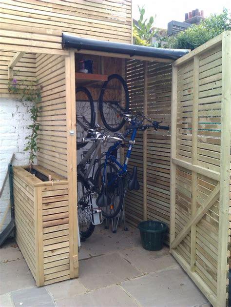 garden bike sheds storage 25 best ideas about bike shed on garden bike