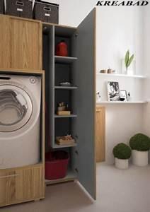 Waschmaschinenschrank Mit Tür : badm bel 3m2 ~ Eleganceandgraceweddings.com Haus und Dekorationen