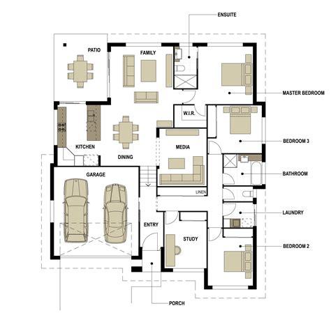 split floor plans split level floor plan smek design gold coast architectual building design