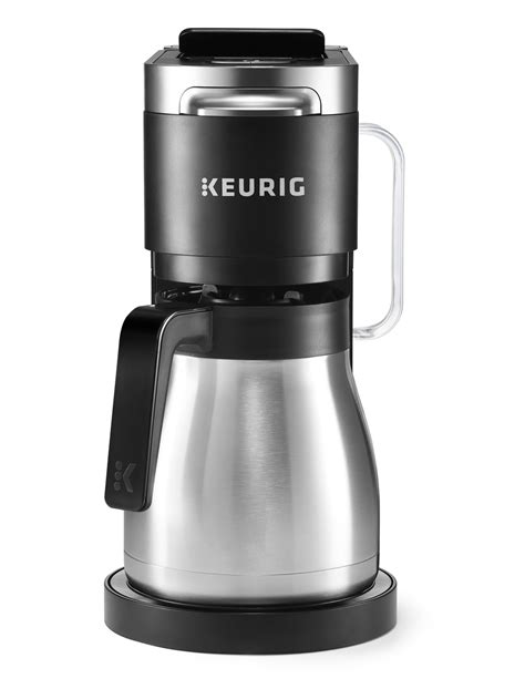 It's affordable, it's versatile, it's durable, it's easy to use, and most importantly, it makes a reliably mean cup of joe. Keurig K-Duo Plus Coffee Maker, with Single Serve K-Cup Pod and 12 Cup Carafe Brewer, Black ...