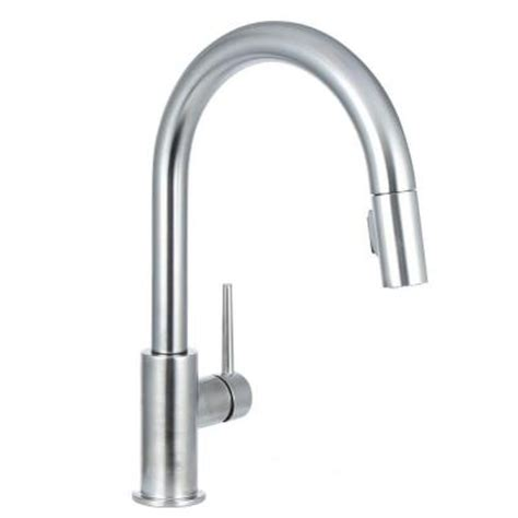 delta trinsic kitchen faucet canada delta kitchen faucets delta touch and free faucets