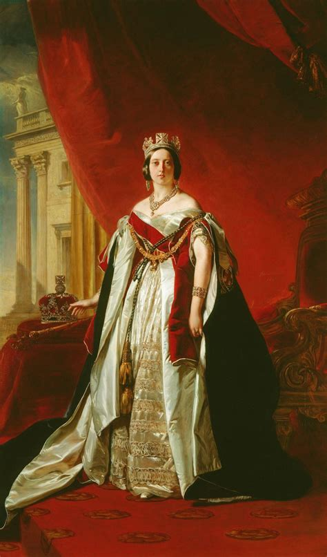 gods  foolish grandeur queen victoria   garter robes  winterhalter