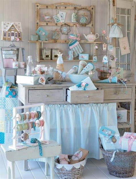 shabby chic sewing room pin by joelle owl cat on craft room organisation ideas pinterest