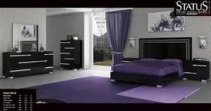 Black bedroom sets (photos and video) WylielauderHouse com
