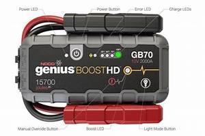 Noco Boost Hd 2000a Jump Starter Gb70