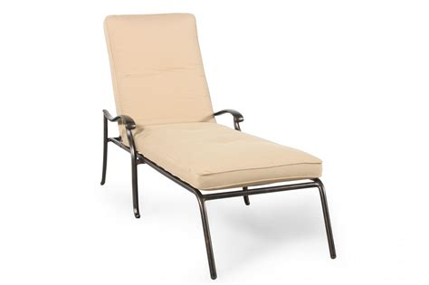 chaise alu casual aluminum chaise lounge in mathis brothers