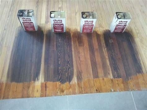 choosing stain color  hardwood floors indiana