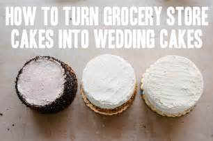 grocery store wedding cake how to a trio of grocery store wedding cakes