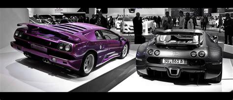 Lamborghini Diablo Vs Bugatti Veyron