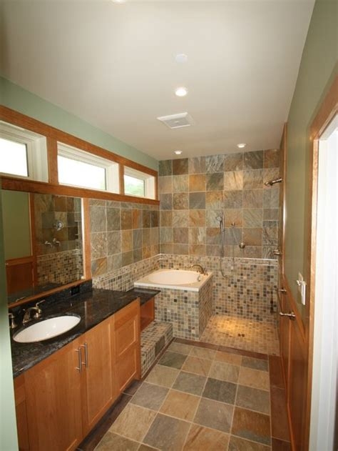 soaking tub  shower home design ideas pictures
