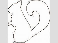 Squirrel Clipart Outline ClipartXtras