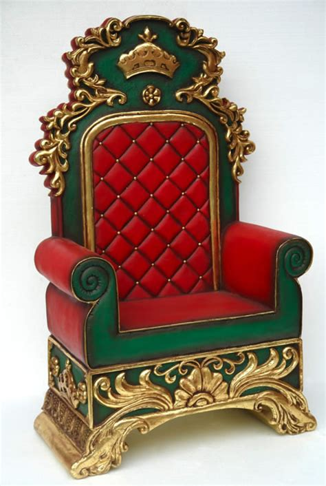 rent santa chair  chicago il santa claus throne