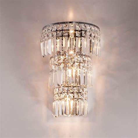 k9 crystal wall light living corridor crystal wall sconce bedroom bedside crystal wall l