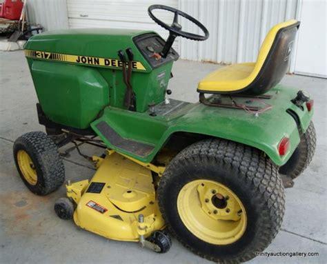 deere 317 lawn garden tractor