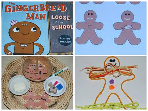 preschool activities for the gingerbread in the 482 | Gingerbread Collage