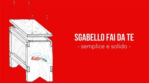 Sgabello Fai Da Te by Sgabello Fai Da Te Semplice E Solido La Falegnameria