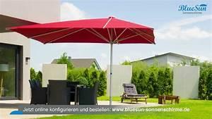 Sonnenschirme Gastronomie 5x5m : bluesun professionelle gastronomie sonnenschirme auch f r privat youtube ~ Yasmunasinghe.com Haus und Dekorationen
