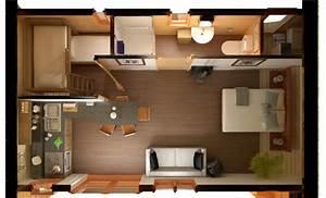 vue 3d de l39interieur de la chambre d39hotel ecoperch With plan de maison en 3d 18 decoration dinterieur de chambre bebe enfant ado