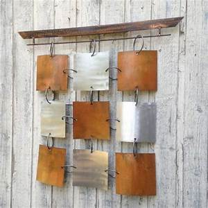 la decoration murale en metal touches d39elegance pour l With wonderful panneau de couleur peinture murale 12 la decoration murale en metal touches delegance pour l