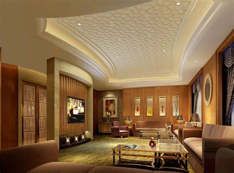 luxury pattern gypsum board ceiling design for modern living room with tv ideas home home