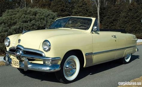 1950 Ford Custom Deluxe Convertible @carpictures Classic