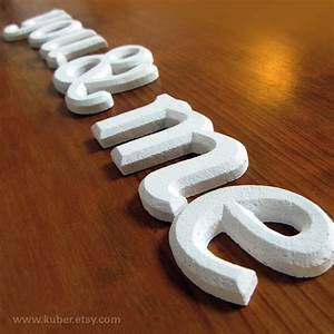 11 best images about plastering on pinterest plaster With plaster letters