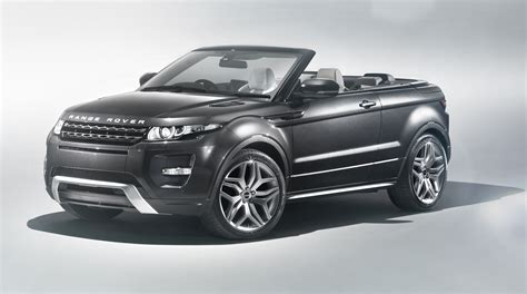 range rover evoque convertible land rover keen  build