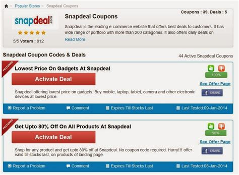 a57c42c28 Coupon codes for snapdeal